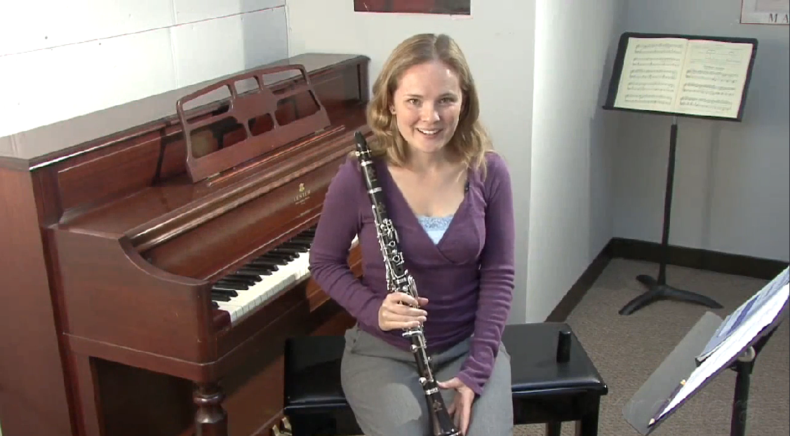 Blowing Through the Clarinet