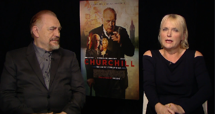 "Brian Cox and Miranda Richardson on ""Churchill"""