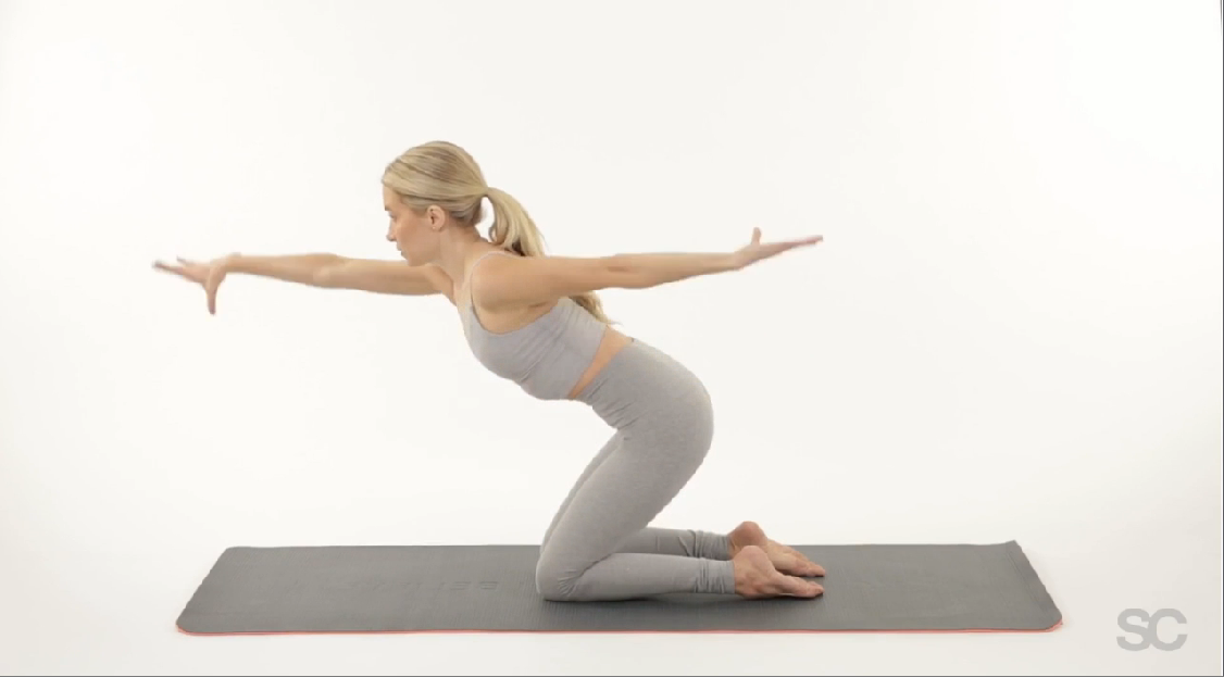 Sculpt your legs, butt and abs with this pilates sequence