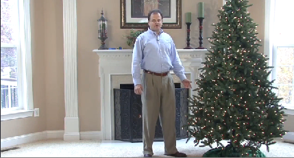 Determining the Height and Width of Your Christmas Tree