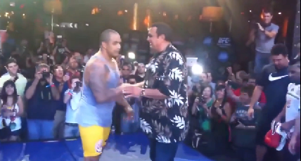 Steven Seagal Spars Top Ufc Fighter