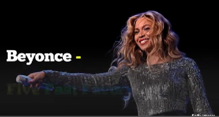 Beyonce Five Fast Facts