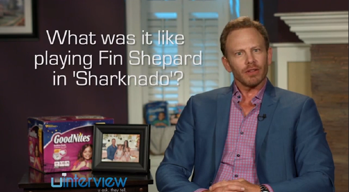 Ian Ziering on Sharknado
