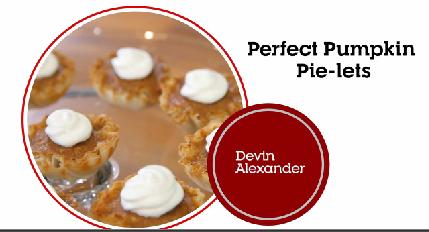 Perfect Pumpkin Pie-lets