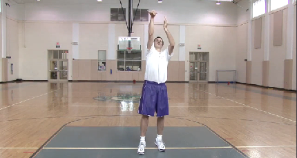 Correct Basketball Shot Motion