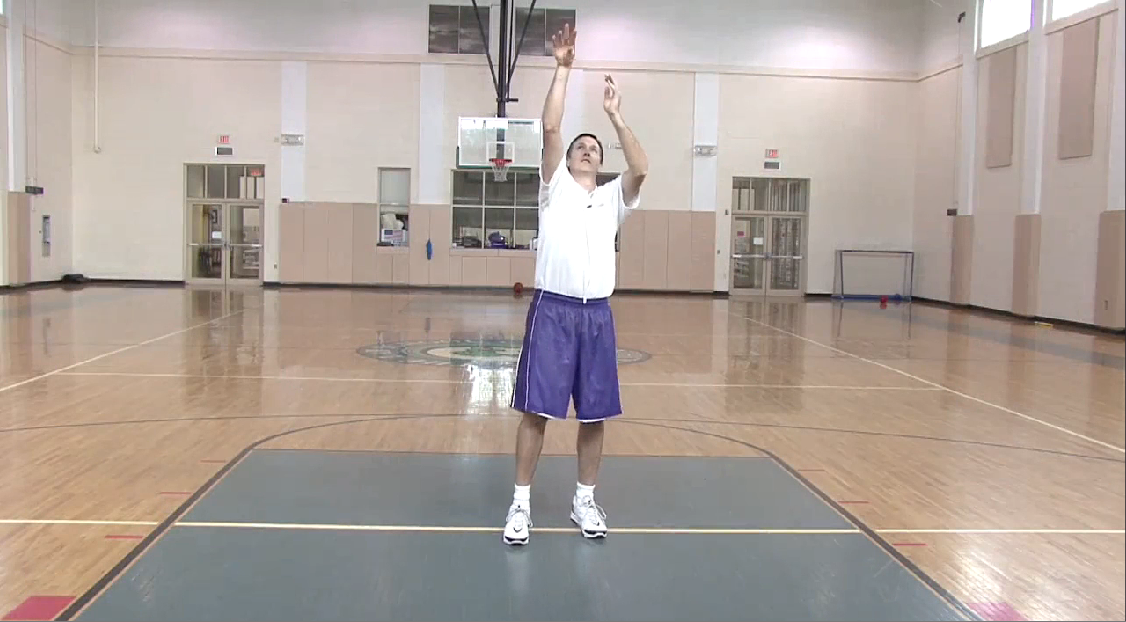 Perfecting Basketball Shot Follow Through
