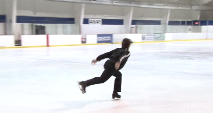 Ice Skating – The Single Salchow