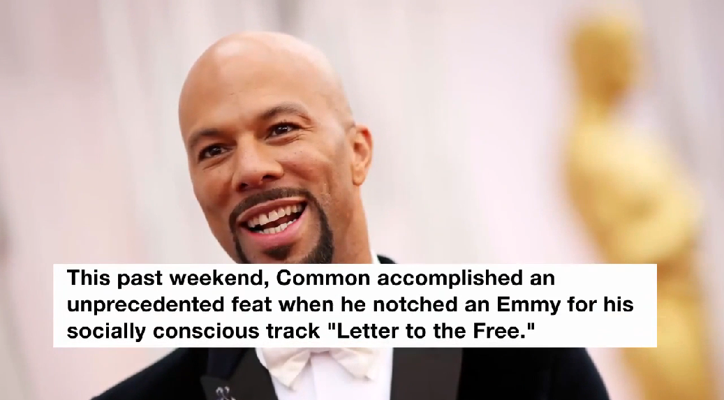 Common Becomes the First Rapper to Win a Emmy, Grammy and Oscar | Billboard News