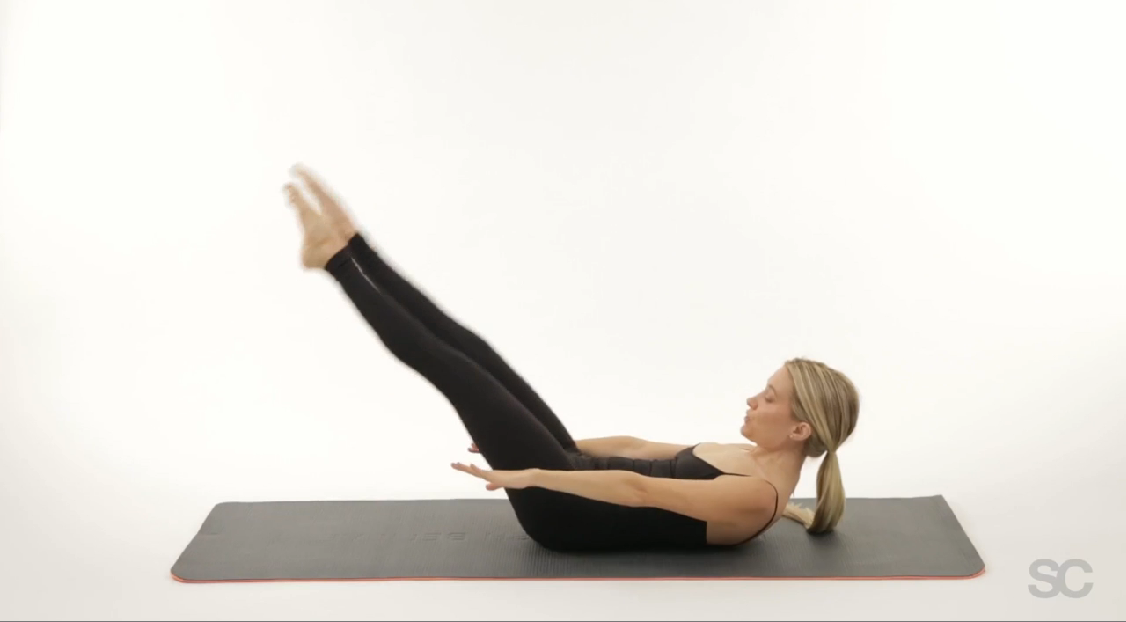 Cinch your waist with this 60 second obliques workout